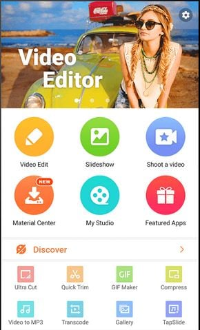 VideoShow- video size reducer for android
