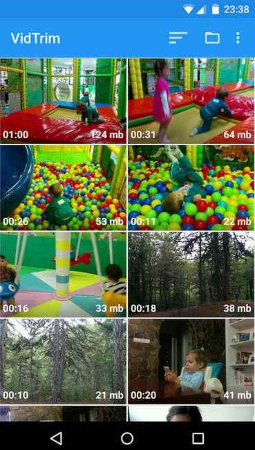VidTrim- video size reducer for android