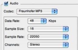 change audio size