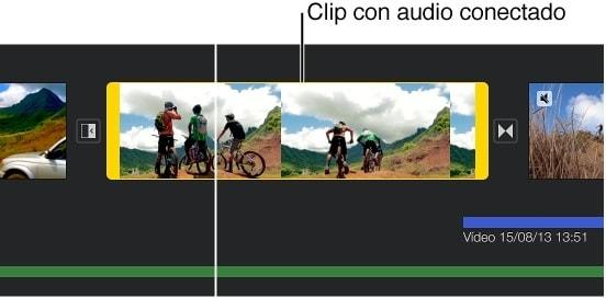 split audio clip in imovie