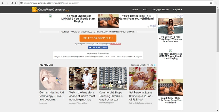 convert wmv to mp4 mac online with Online Video Converter