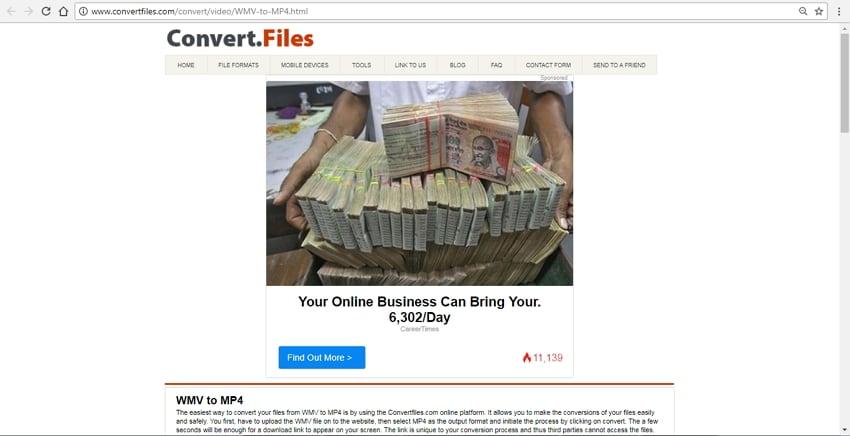 wmv to mp4 converter online free download