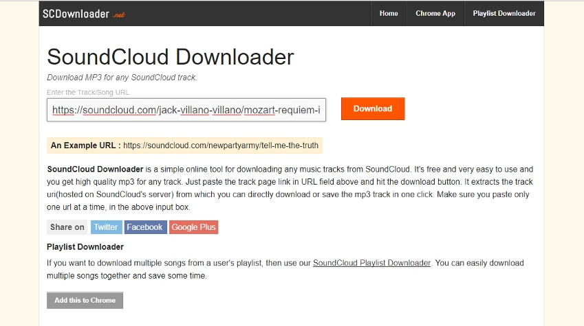 open sc downloader site