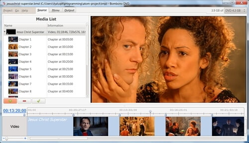 Free DVD Authoring Software Bombono DVD