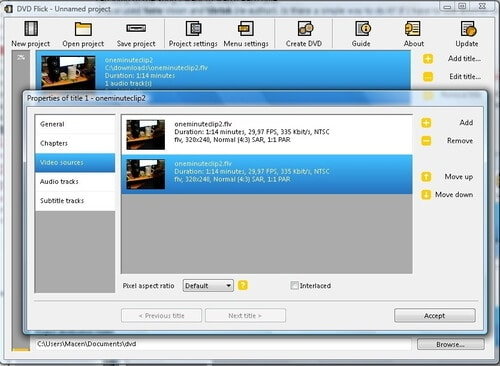 Free DVD Authoring Software DVD Flick