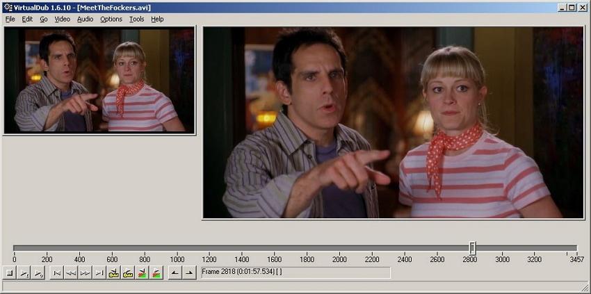 VirtualDub Windows Based Trimmer