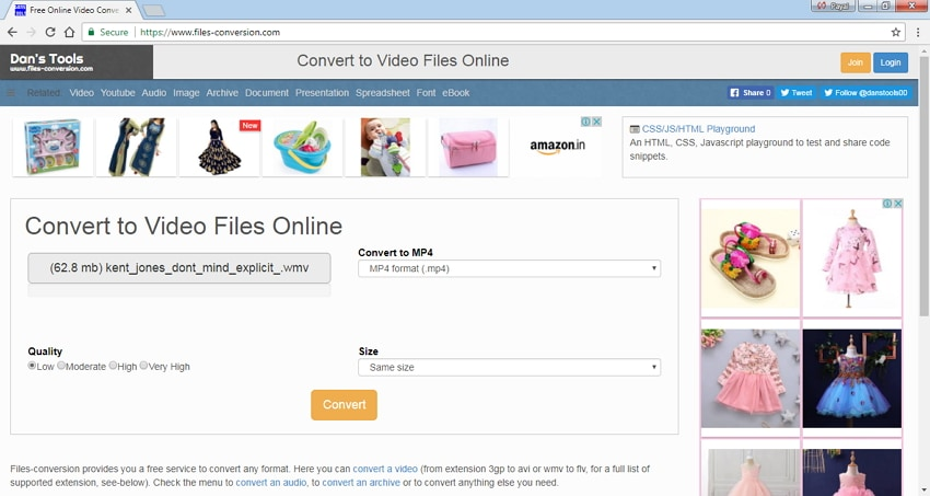 avi to mp4 converter free Files Conversion