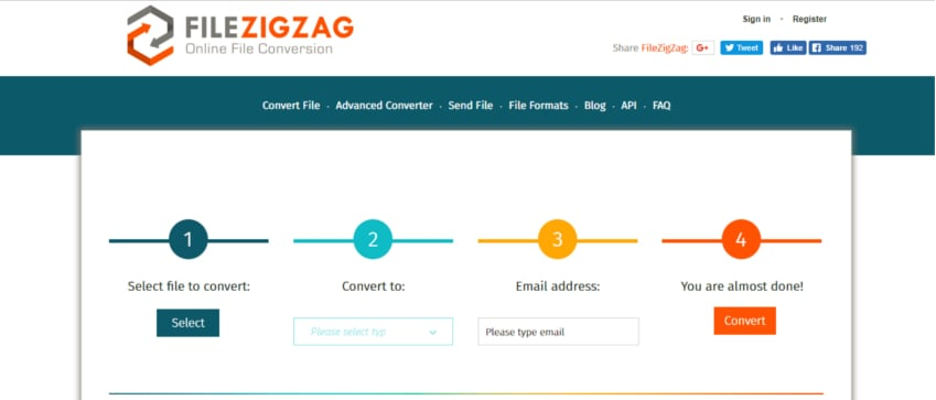 filezigzag online converter