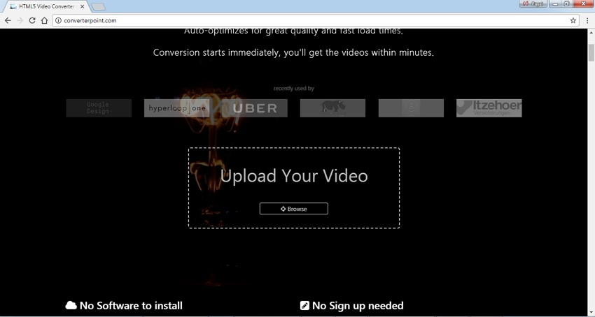 convert MP4 to HTML5 video online