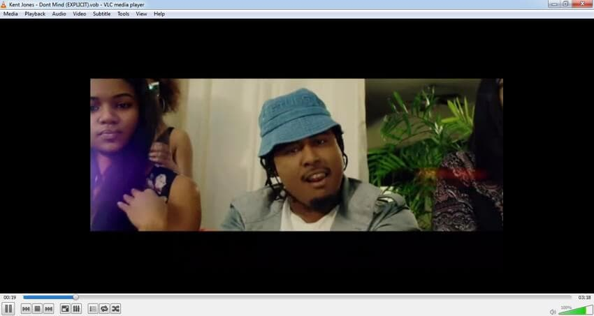 Play VOB File Player with VLC Media player
