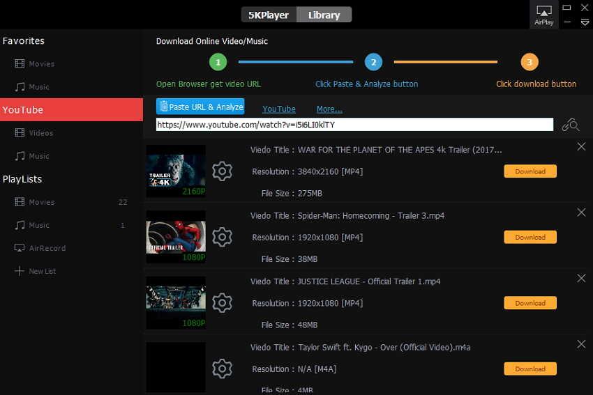 VLC DVD Player 5K gratuito alternativo