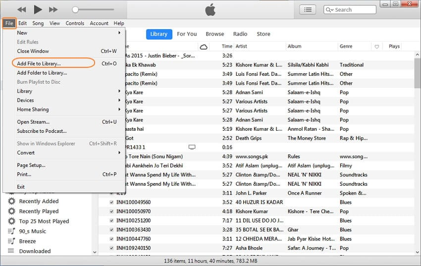 add DVD files to iTunes library