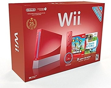 Wii Hardware Bundle – Red