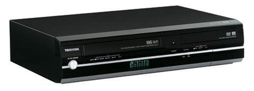 Toshiba D-KVR20 1080p Upconversion Progressive Scan DVD±RW/VHS Combo Recorder