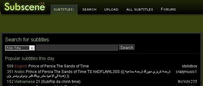 subtitles free download-subscene