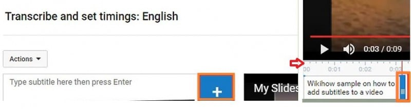 enter subtitles