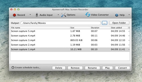 Record Screen Video on Mac - Use Apowersoft Online Video Recorder