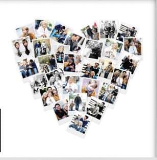 Heart-Shaped photo art