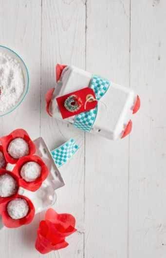 Red Velvet Snowballs