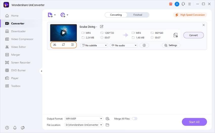 Crop and trim videos