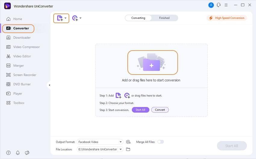 open facebook cover video converter