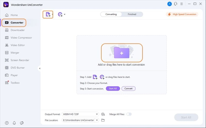 add videos to video size converter