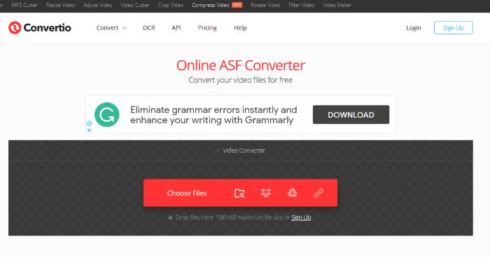 asf converter online