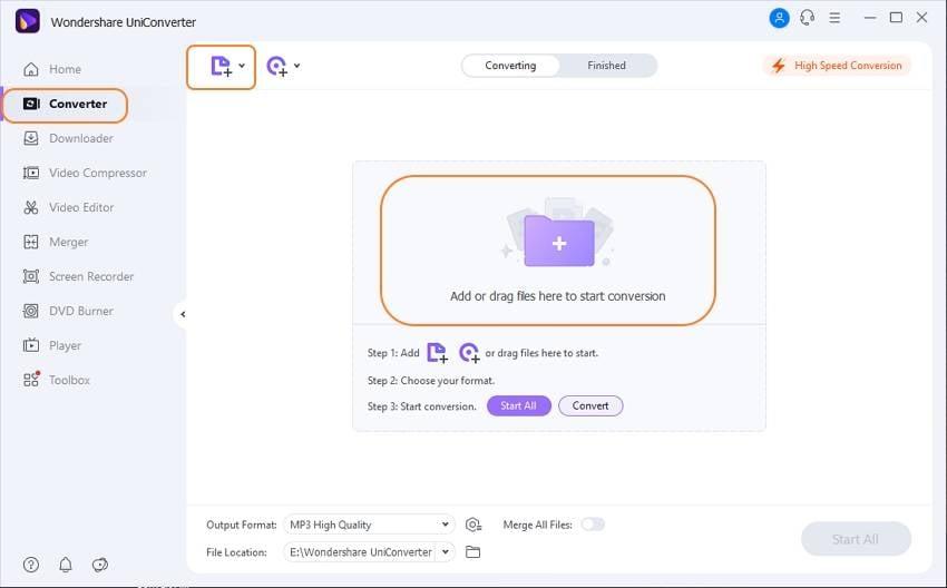 Ajouter le fichier AVCHD au convertisseur AVCHD