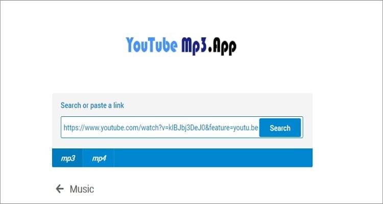 Google MP3 Online Converter - YouTube MP3 App