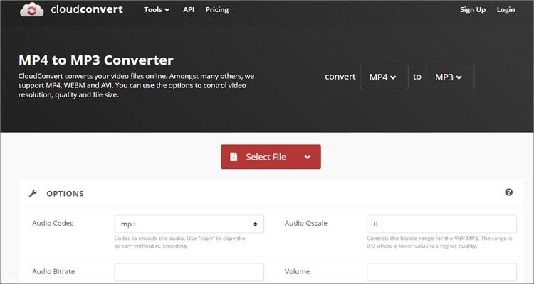 Google MP3 Online Converter - CloudConvert