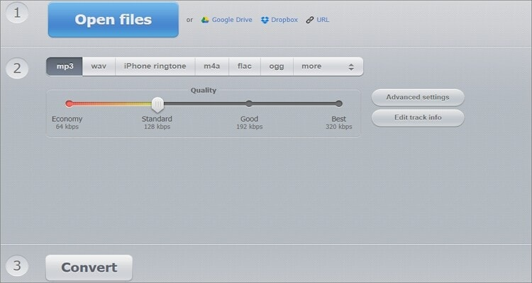 Google MP3 Online Converter - Online Audio Converter