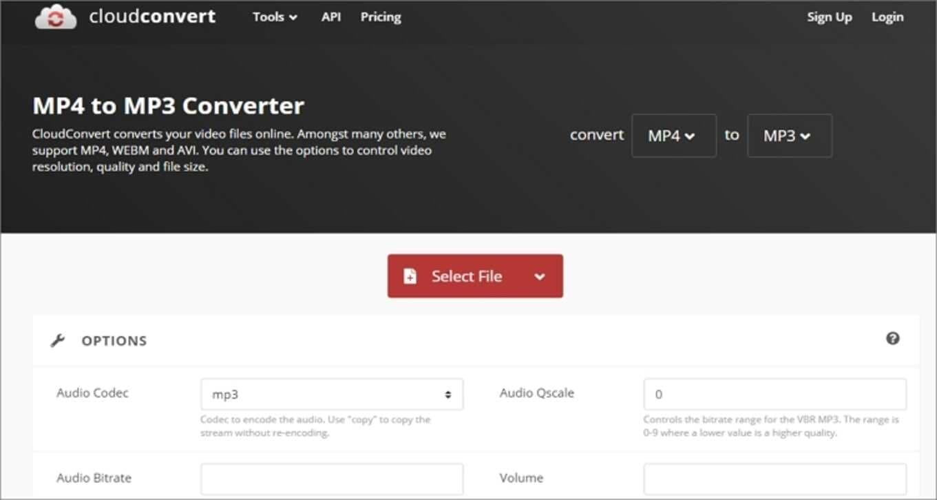 Google MP4 Online Converter - CloudConvert