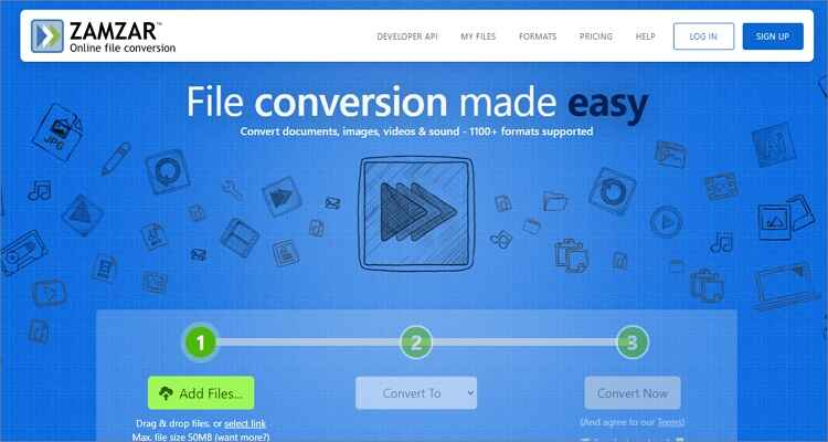 Google MP4 Online Converter - Zamzar