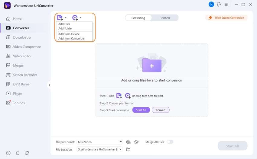 add files to vro to avi converter mac