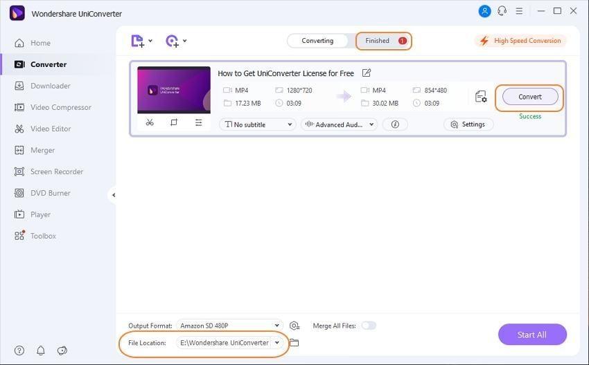 convert amazon video to mp4