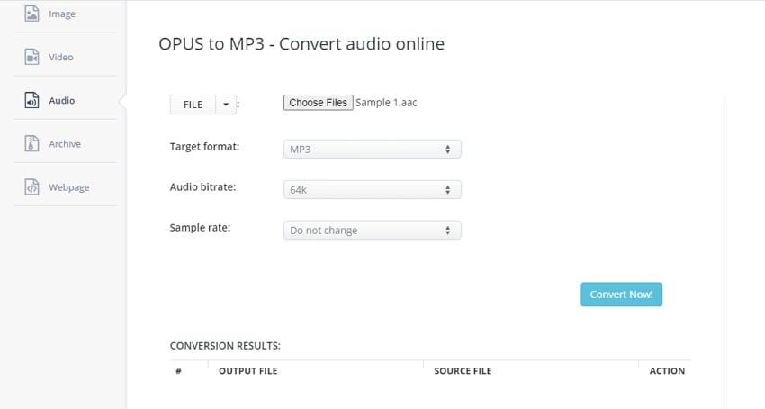 converter whatsapp mp3 aconvert