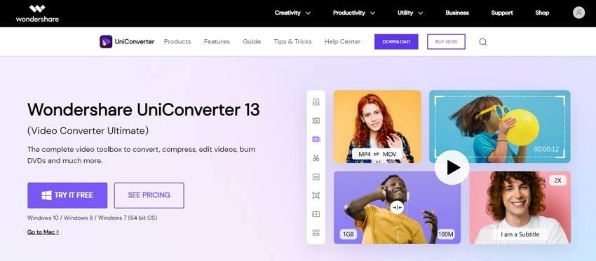 uniconverter whatsapp video converter