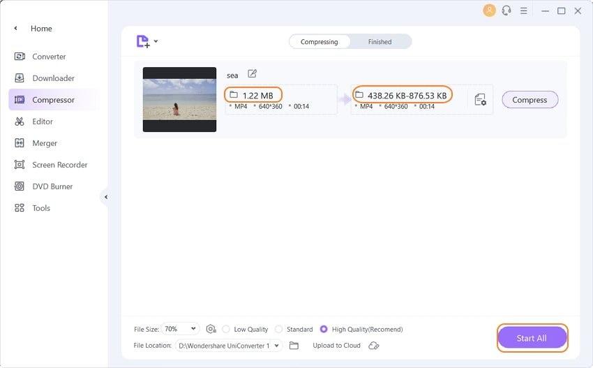 convert video for web