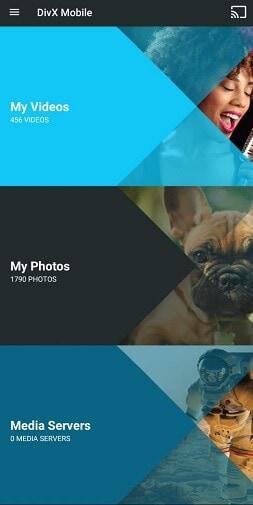 DivX Player für Android - DivX Mobile
