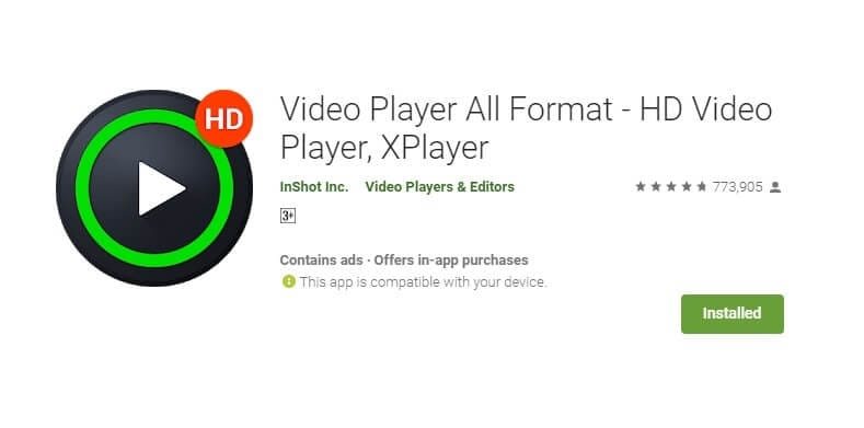 DivX Player für Android - Video Player All Format – Xplayer