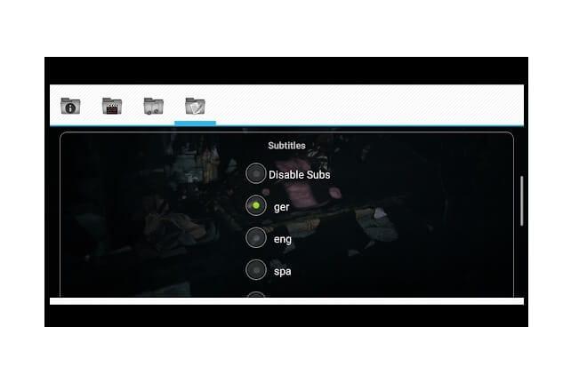 DivX Player für Android - Wuffy Media Player