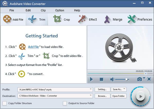 Avdshare Video Converter