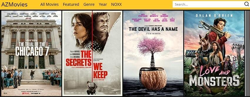 Find DivX Movies in AZMovies