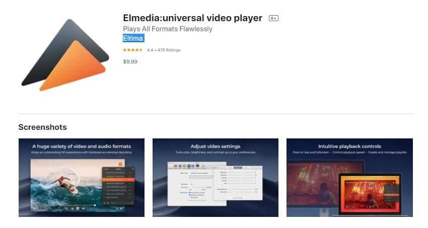 Play DivX with Elmedia
