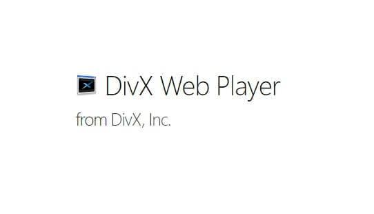 Play DivX with DivX Web Player
