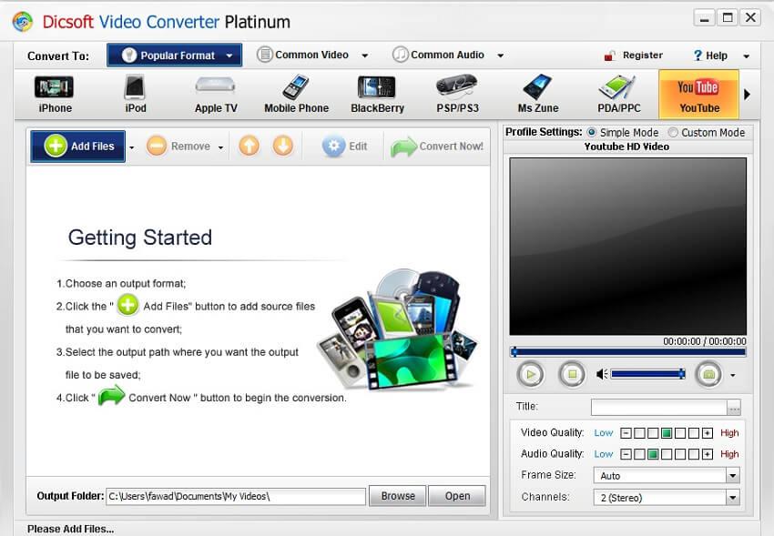 Dicsoft Video Converter Platinum