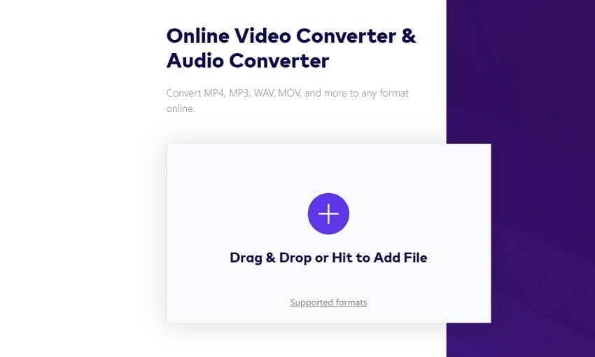 How to Convert Videos to DVD - Add Video to Online UniConverter (originally Media.io)