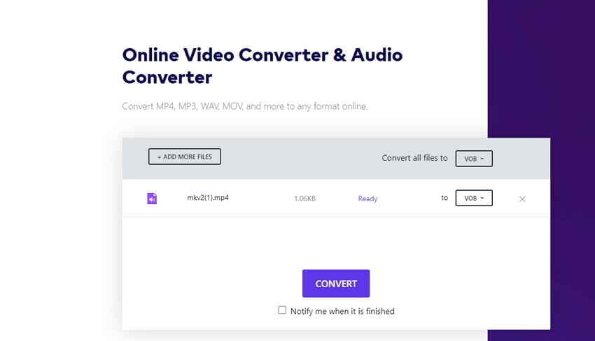 How to Convert Videos to DVD - Start Converting Videos to DVD