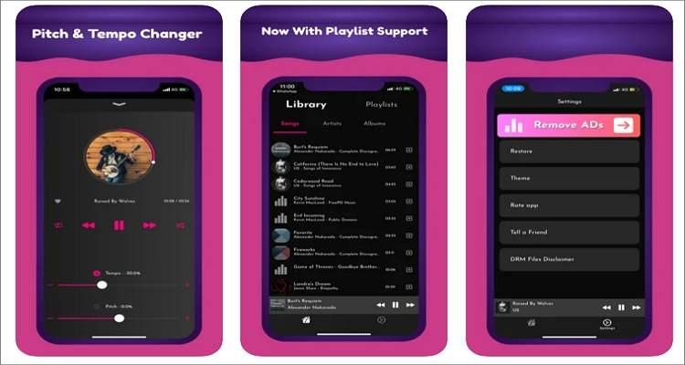 Audipo: Audio Speed Changer