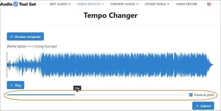 Audio Tool Set